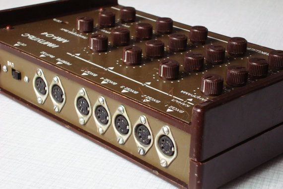 Vintage mixer in your audio setup, the good, bad and the ugly.