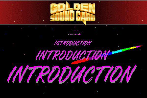TopTek Golden Sound PRO II, a SoundBlaster compatible showcase.